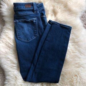 Paige Horton Ankle Skinny Jeans